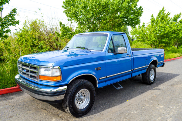 BLUE FORD F150 by RobertStevens