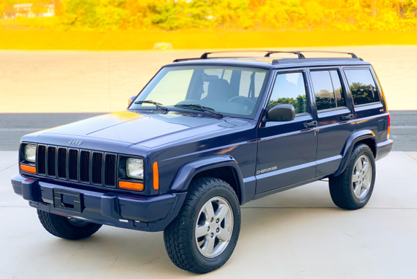 Blue cherokee stick by autosales by autosales