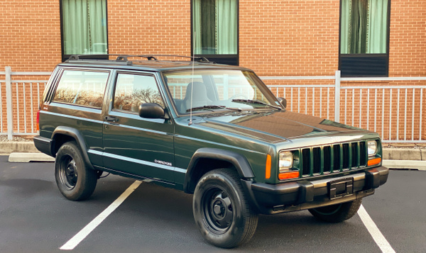 Green cherokee 2dr by autosales by autosales