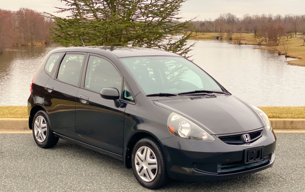 Honda fit black by autosales by autosales