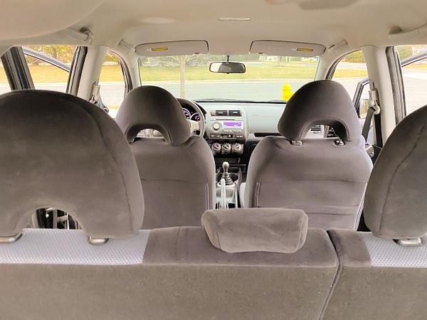 Honda fit black by autosales