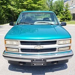 N 1995 Chevy 1500 Green