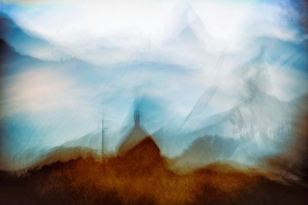 Bodega House - ICM - Landscape - Roxanne Bouche Overton