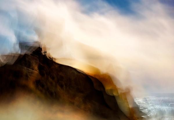 Sea Whispers lrg - ICM - Landscape - Roxanne Bouche Overton