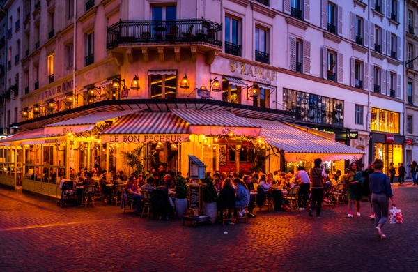 Golden Hour Circle Light-1 - Home - Paris - Serge Ramelli Photography
