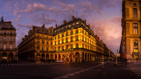 Golden Hour Circle -1 by Serge Ramelli
