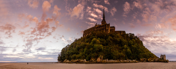 Mont Saint Michel Panorama by Serge Ramelli