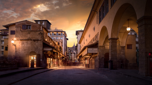 Florence-1 - Italy by Serge Ramelli