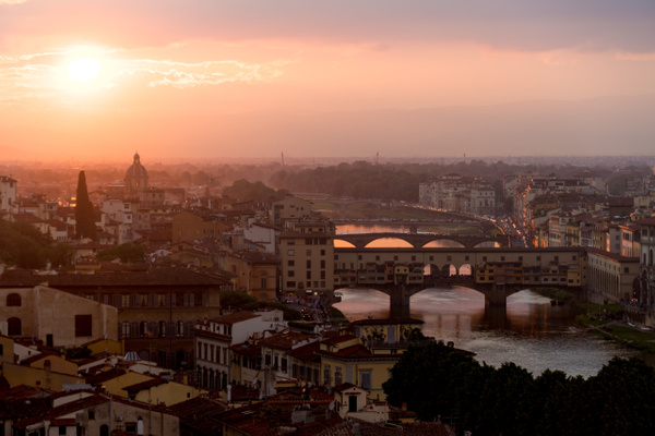 Florence soir_ - Italy by Serge Ramelli