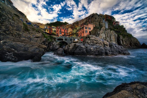 CinqueTerre-6 - Italy by Serge Ramelli