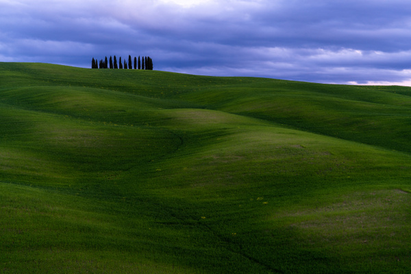 Tuscany FIrst Evening-7 - Italy by Serge Ramelli