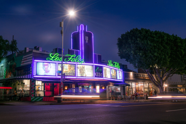 Los Feliz Theater-1 - USA by Serge Ramelli