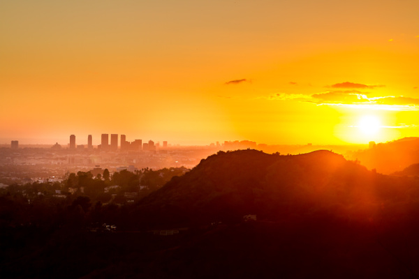 Los Angeles Heat_ - USA by Serge Ramelli