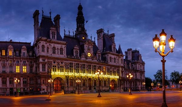 Hotel de Ville-1-2 - Home - Paris - Serge Ramelli Photography