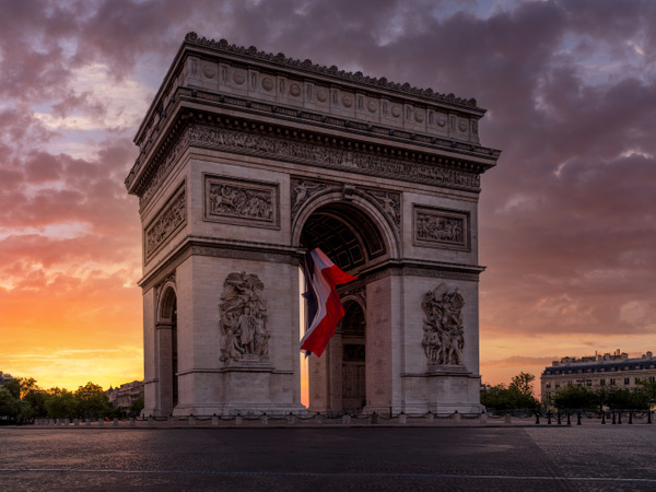 Arc de trimphe-1 - Home - Paris - Serge Ramelli Photography