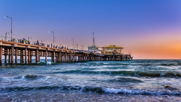 Santa Monica Pier - USA- Dee Potter Photography