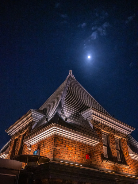Toronto-Moon over Broadview - Canada - Dee Potter Photography