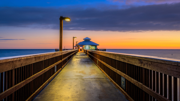 Fort Myers Pier - Florida - Land & Sea - Dee Potter Photography