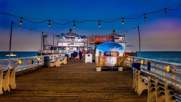 Malibu Pier Sunset - USA- Dee Potter Photography