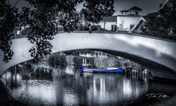 IS#3 - Venice Beach Canals - California - Isolation Series - Dee Potter Photography