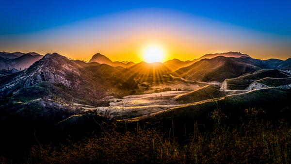 Calabasas Sunset - USA- Dee Potter Photography