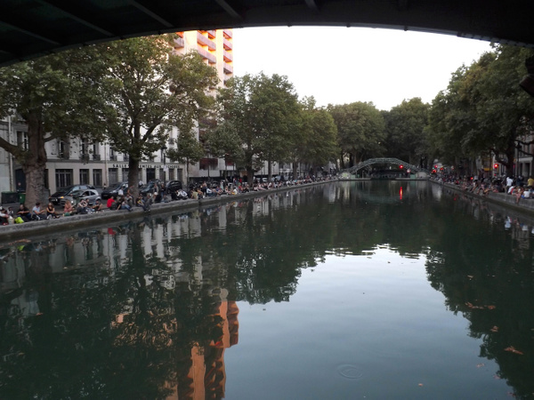 Canal St. Martin - Paris 2013 - Home -  Michael J. Donow Photography