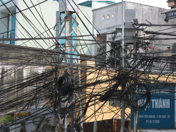 Electric grid - HCMC - Home -  Michael J. Donow Photography