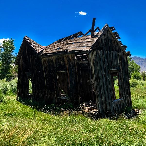 Homestead in Round Valley by Bruce Crair