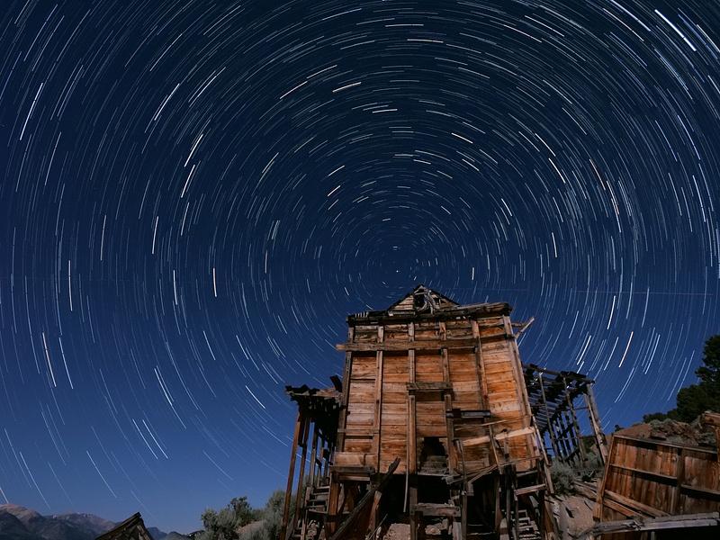 Mining Mill Star Trails 20190712