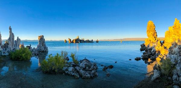 Sunset on Mono Lake by Bruce Crair
