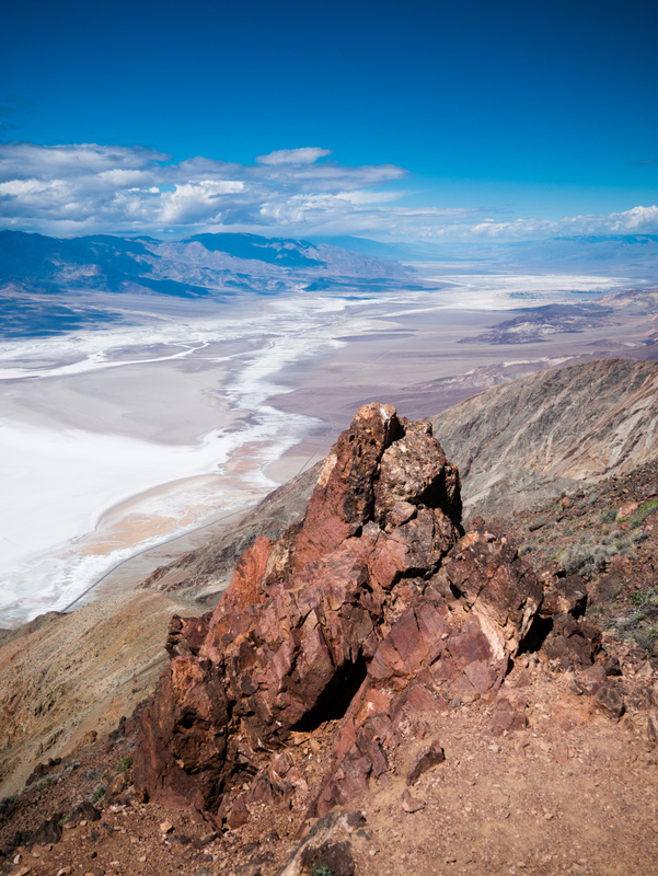 Dantes Peak to Death Valley