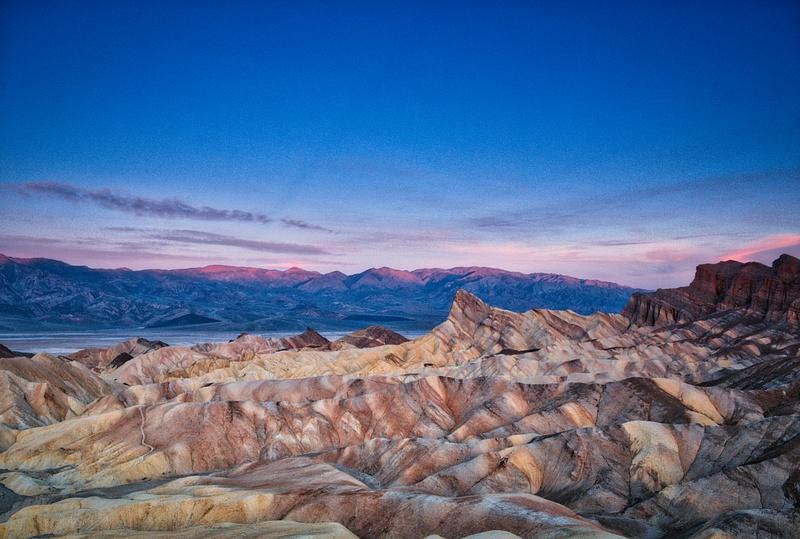 Sunrise at Zabriskie Point