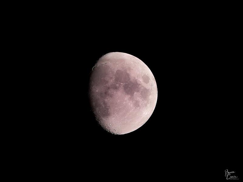 Three-Quarters Moon