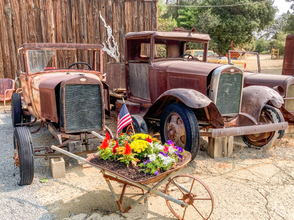 Used Car Lot in Julian CA by Bruce Crair