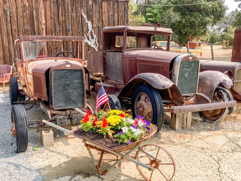 Used Car Lot in Julian CA