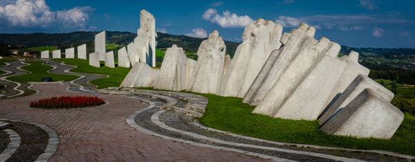 Kadinjača Memorial, Serbia - Places - Justine Kirby Photography