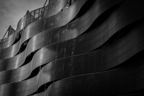 Parking garage, Dallas, USA - Geometry & Shapes - Justine Kirby Photography