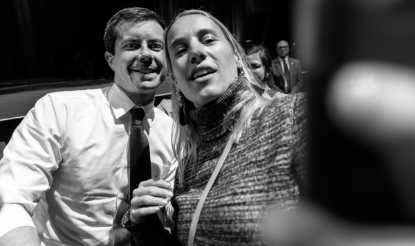 Pete Buttigieg, New York, October 2019 - Politics: Voting - Justine Kirby Photography