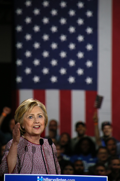 Hillary Clinton, New York primary night, April 2016 - Politics: Voting - Justine Kirby Photography