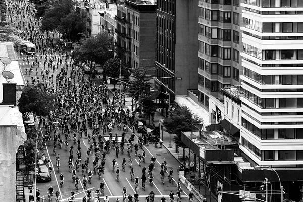 Black Lives Matter bike ride, New York, June 2020 - Politics: Activism - Justine Kirby Photography