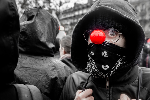Anti-Trump protest, Paris, November 2018 - Politics: Activism - Justine Kirby Photography
