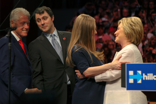 Hillary Clinton's nomination rally, Brooklyn Navy Yard, New York, June 2016 - Politics: Voting - Justine Kirby Photography