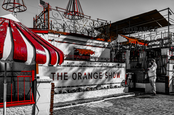 The Orange Show, Houston, USA - Street Photography - Justine Kirby Photography