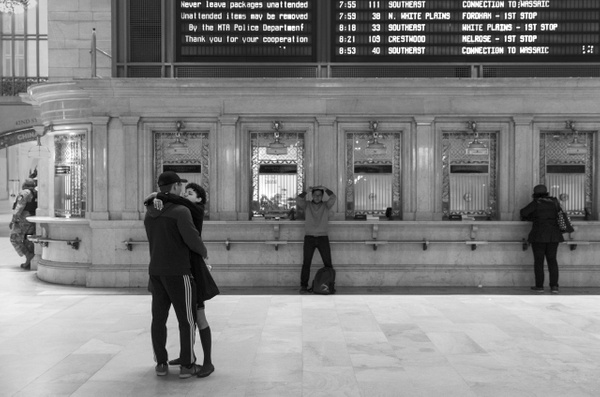 Grand Central Terminal, New York - Street Photography - Justine Kirby Photography
