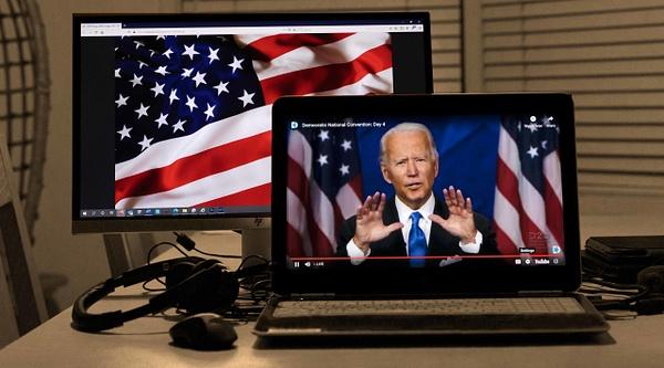 Joe Biden's acceptance speech, Democratic National Convention, August 2020 - Politics: Voting - Justine Kirby Photography