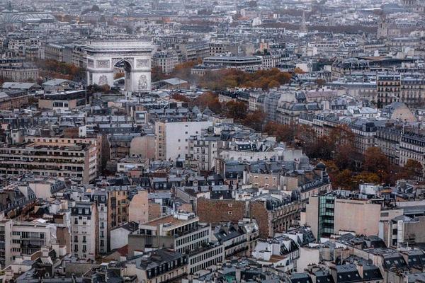 Arc de Triomphe, Paris - Places - Justine Kirby Photography