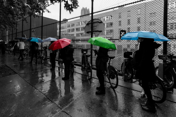 Voters, New York, October 2020 - Politics: Voting - Justine Kirby Photography