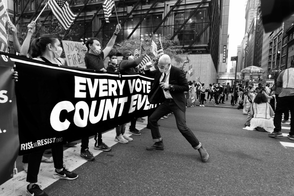 Voters Decided Rally & March, New York, November 2020 - Politics: Activism - Justine Kirby Photography