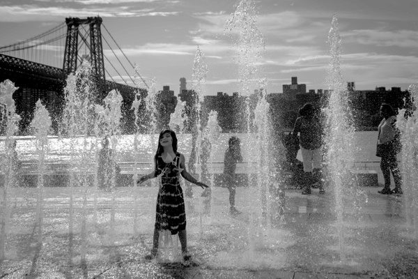Domino Park, New York - Street Photography - Justine Kirby Photography