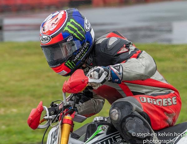 Leon Haslam Rednal 2020 - Motor Sport - Stephen Kelvin Hope Photography